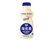 心牧语味优美原味乳酸菌饮品340ml