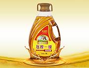 玉金香压榨一级花生油5L异形桶