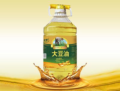 玉金香非转基因一级大豆油5L