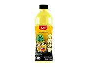 爱加壹冷榨菠萝汁饮料550ml