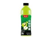 爱加壹冷榨苹果汁饮料550ml