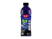 爱加壹冷榨蓝莓汁饮料550ml