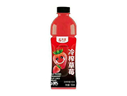 爱加壹冷榨草莓汁饮料550ml