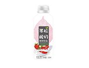 康发-草莓果粒酸奶饮品