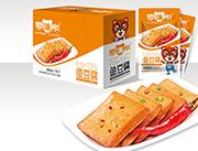 零嘴熊��烤味�~豆腐500g