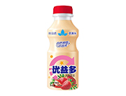 ��益多草莓味乳酸菌�L味�品340ml