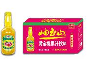 岫玉山桃果汁玻璃瓶260ml