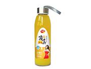 顶真420ml芒果汁手提瓶装