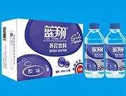 蓝翔原味无糖苏打饮料350ml×24瓶(超市专供)