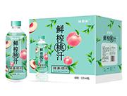桃�p松�i事�利�r榨桃汁1L×6瓶