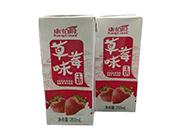康伯爵草莓味牛奶�L味�料250ml