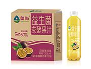�W尚百香果�L味益生菌�l酵�秃瞎�汁�品1.25L×6瓶