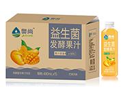 奥尚芒果风味益生菌发酵复合果汁饮品480ml×15瓶
