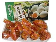 缠丝丝黄宝鸭蛋礼盒