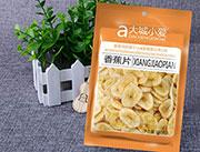 大城小��-香蕉片100g袋�b