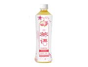 茉晨茶�Z蜜桃味�觚�茶�料500ml