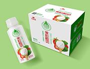 乳果派醇草莓果粒发酵酸奶饮品310ml×12瓶