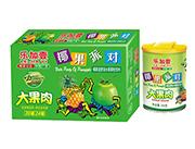 乐加壹大果肉椰果派对椰果菠萝派水果果粒平安电竞游戏250g箱装