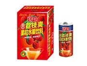 乐加壹冰糖荔枝爽果粒水果饮料240g礼盒