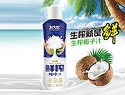 北大荒�r榨椰子汁植物蛋白�料1.25L