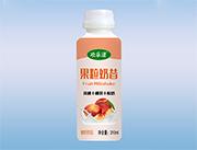 欢乐滋果粒奶昔黄桃椰果酸奶饮品310ml