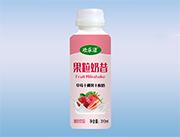 �g�纷坦�粒奶昔草莓椰果酸奶�品310ml
