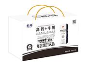 馨畅高钙+牛奶复合蛋白饮品250ml×12盒