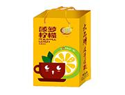 维维菠萝柠檬水果饮料手提袋