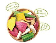 北申-每日果蔬脆��物展示