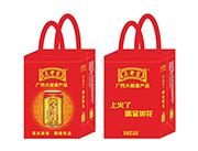 王老吉金银花植物饮料手提袋