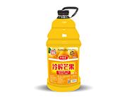 令德堂冷榨芒果果肉果汁�料2.5L