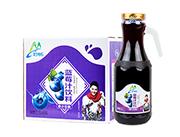 妙畅蓝莓汁饮料1.5L×6瓶(手柄瓶)