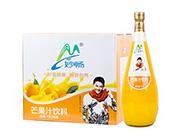 妙畅芒果汁饮料1.5L×6瓶