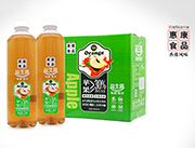 惠康益生菌发酵复合苹果汁饮料1.25L×6瓶
