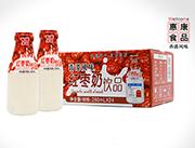 惠康香港风味红枣奶饮品280ml×24瓶