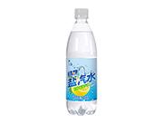 上海风味过劲柠檬味盐汽水600ml