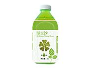 东皇太一绿豆沙果味饮料1L(大口瓶)
