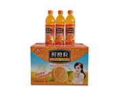 乐品坊鲜橙粒饮料450ml×15瓶大