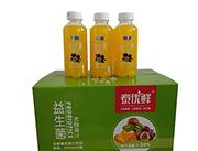 泰优鲜益生菌发酵百香果复合果汁饮料410ml×15瓶