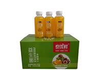 泰优鲜益生菌发酵芒果复合果汁饮料410ml×15瓶