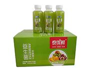 泰优鲜益生菌发酵猕猴桃复合果汁饮料410ml×15瓶