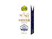 大地中老年无糖乳味饮品250ml