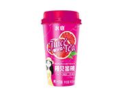 水意柚见蜜桃果汁茶饮料400ml