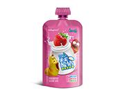 �_洛德草莓味酸奶�品150g