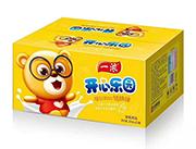 一浓开心乐园乳味饮料200ml×24瓶(黄箱装)