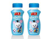 一浓哈尼贝贝乳味饮料100ml(蓝瓶)