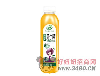 果哇伊益生菌百香果�l酵果汁�料500ml