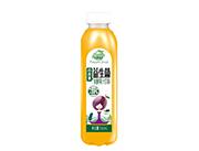 果哇伊益生菌百香果发酵果汁饮料500ml