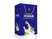 庄锦记醇臻核桃植物蛋白饮料手提袋