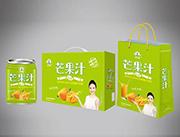 绿之源芒果汁礼盒装